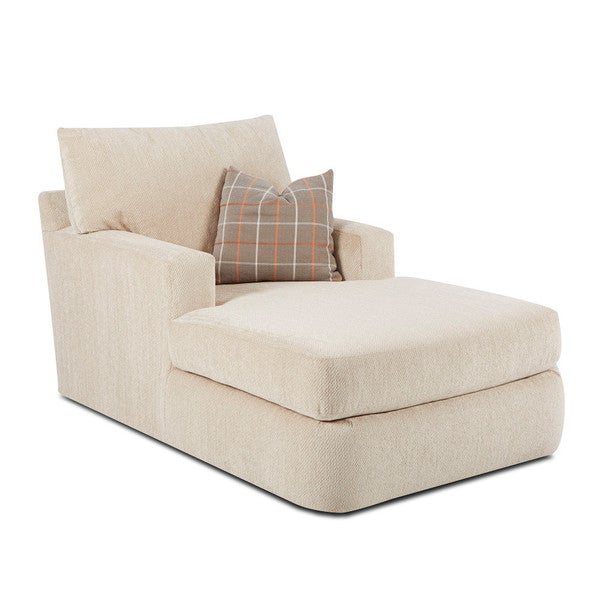 Klaussner Oliver Tan Oversized Chaise Lounge