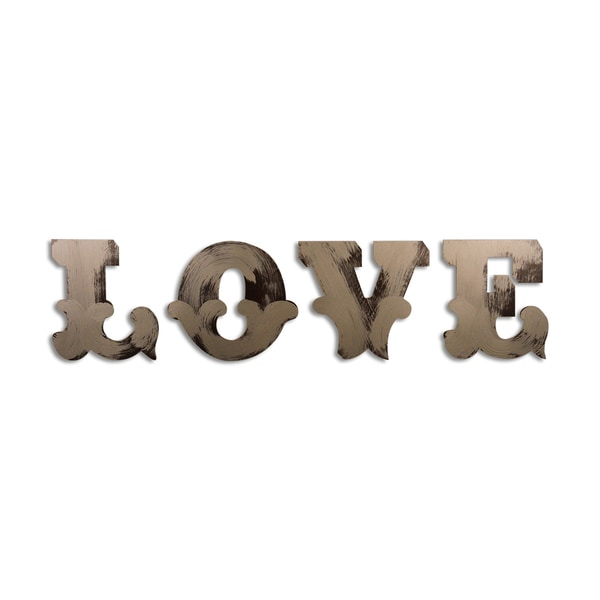 Letter2Word Love, Jr Ringmaster Font Wall Decal