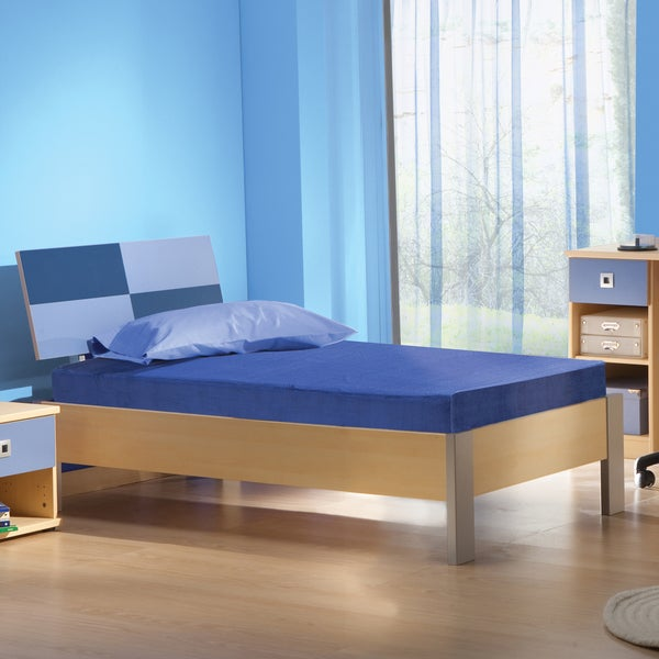 Sleep Sync Kids Blueberry 5-inch Full-size Memory Foam Mattress