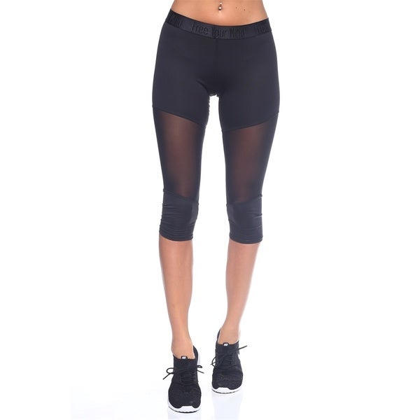 The Free Yoga Women's Nylon Capri Legging 22159538