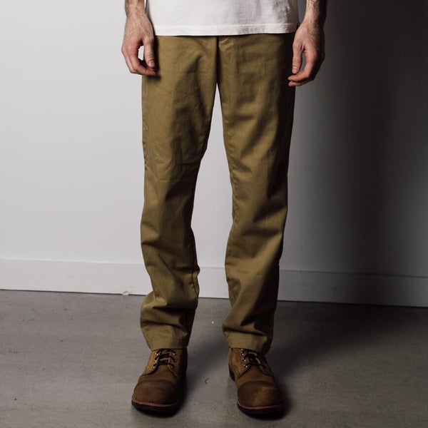 1791 Supply & Co Men's Tan Military Chino Pants