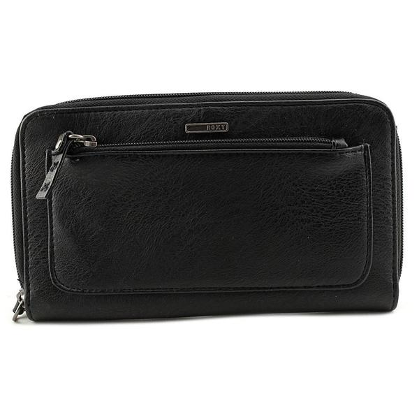 Roxy Women's 'Reflect Wallet' Black Faux Leather Handbags
