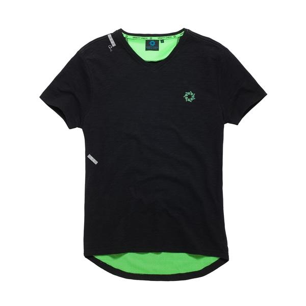 Gravity Check Men's Madison Black Cotton T-shirt