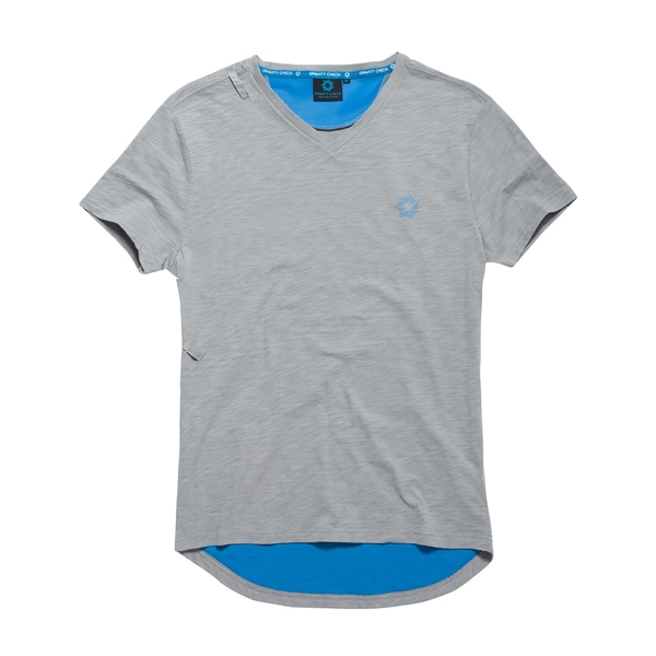 Gravity Check Men's Madison Grey Cotton T-shirt