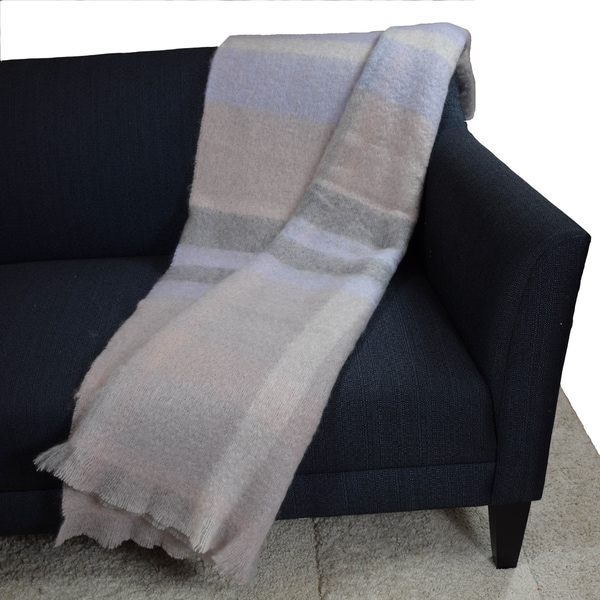 Blissliving Home Tanzania Isna Mohair Throw