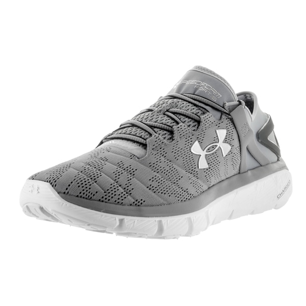 Under Armour Men's Speedform Fortis Vent Stl/White/Msv Running Shoe