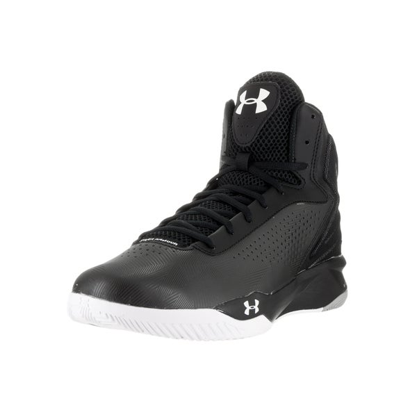 Under Armour Men's Torch Blk/Blk/Wht Basketball Shoe