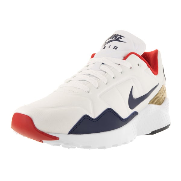 Nike Men's Air Zoom Pegasus 92 White/Midnight Navy/Mtllc Gold Running Shoe