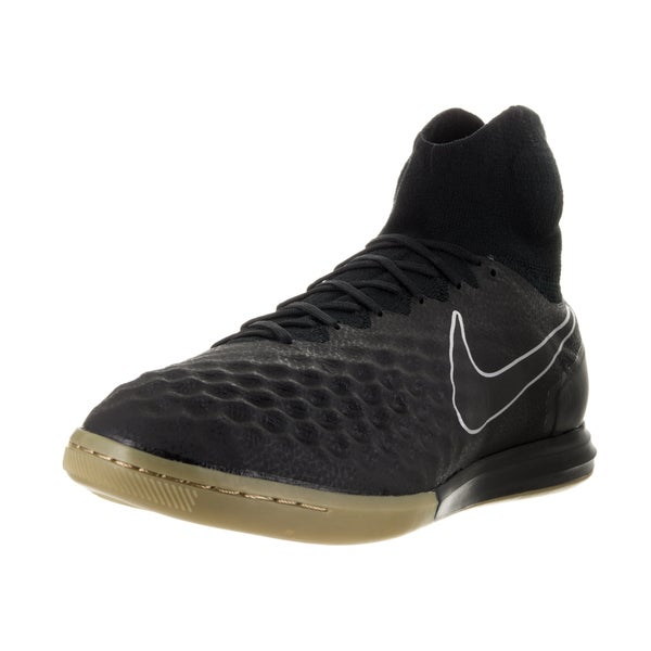 Nike Men's Magistax Proximo II Ic Black/Black Gum Light Brown Indoor Soccer Shoe