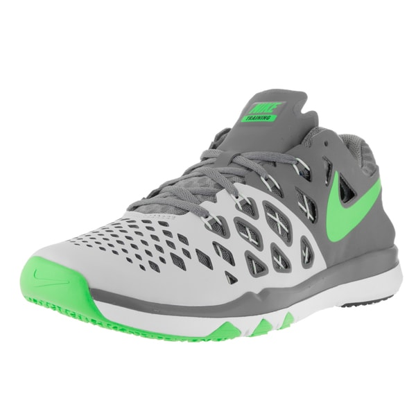 Nike Men's Train Speed 4 Pure Platinum/Rage Green Training Shoe 22188268