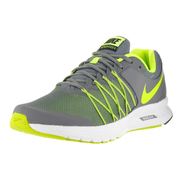 Nike Men's Air Relentless 6 Cool Grey/Volt/Black/White Running Shoe