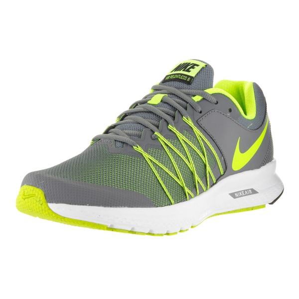 Nike Men's Air Relentless 6 Cool Grey/Volt/Black/White Running Shoe