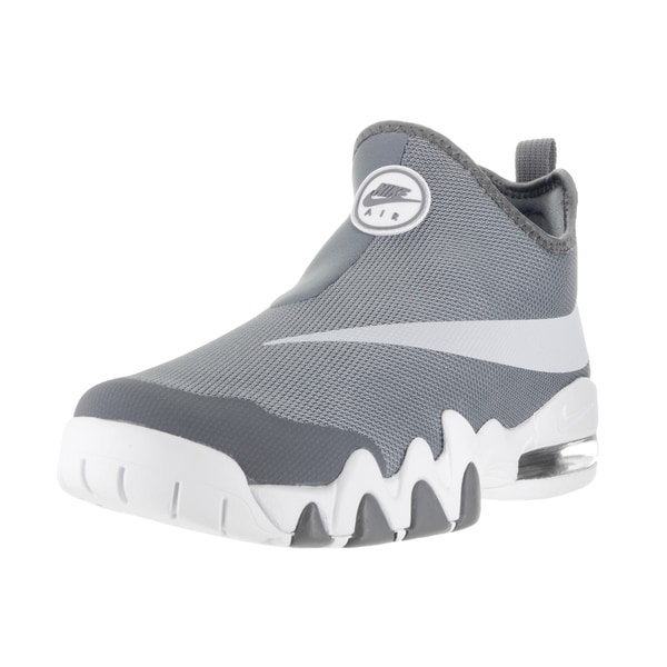 Nike Men's Big Swoosh Cool Grey/Pure Platinum/White Basketball Shoe