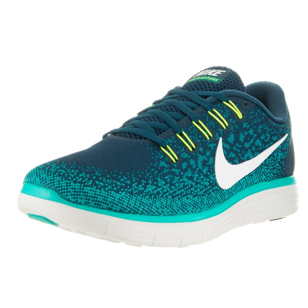 Nike Men's Free Rn Distance Midnight Turq/Off White/Teal Running Shoe