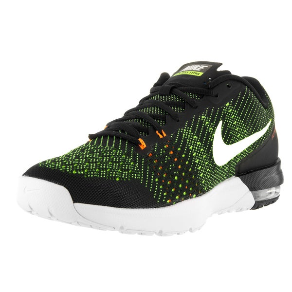 Nike Men's Air Max Typha Black/Volt/Total Orange/White Training Shoe