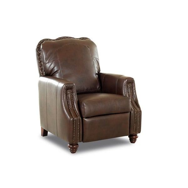 Gabby Leather High Leg Reclining Chair