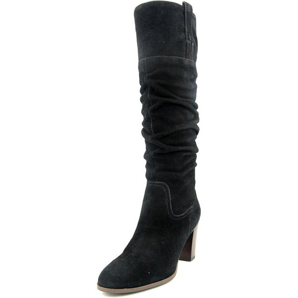 Tommy Hilfiger Women's Trinety Black Suede Boots