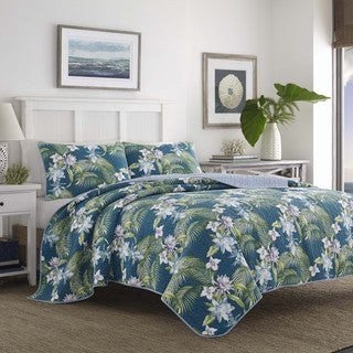 Tommy Bahama Southern Breeze Cotton Quilt Set