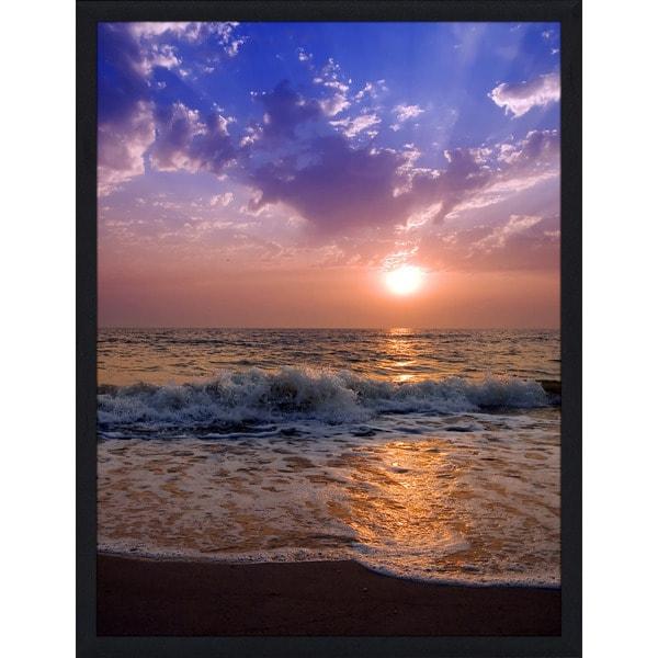 """Across the Sea"" Framed Plexiglass Wall Art"