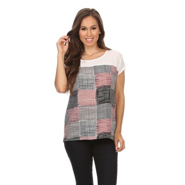 Women's Patchwork Tunic