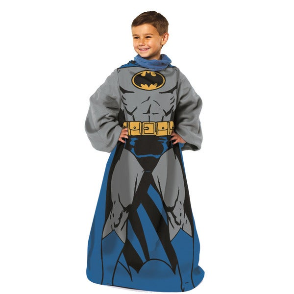 Being Batman Fleece Throw