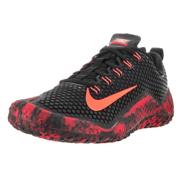 Nike Men's Free Trainer 1.0 Black/Bright Mango Unvrsty Red Training Shoe