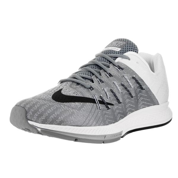 Nike Men Air Zoom Elite 8 Cool Grey/Black/Pr Pltnm/White Running Shoe