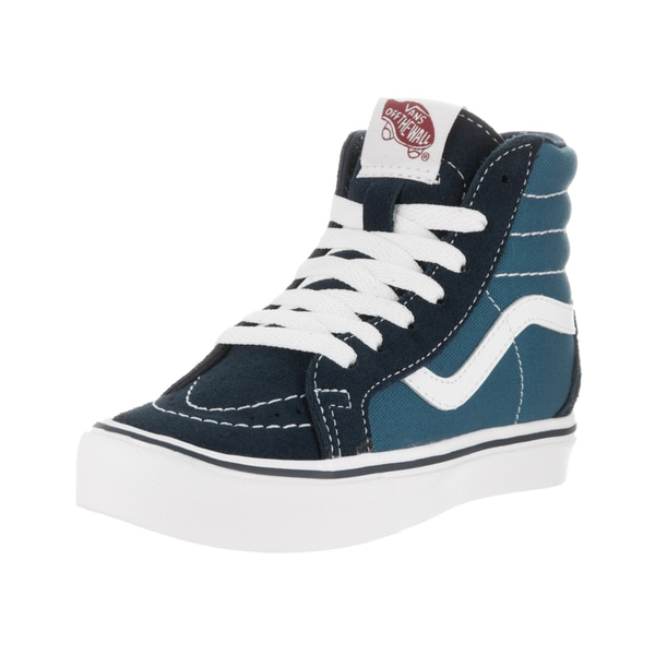 Vans Kids Blue Suede Skate Shoe