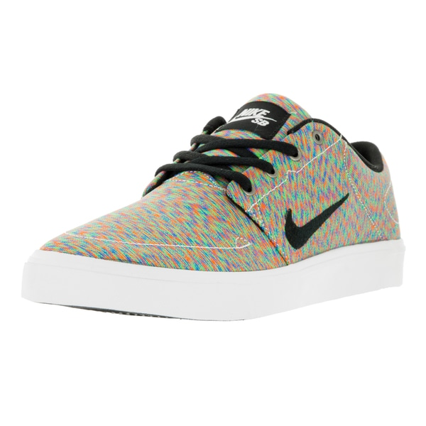 Nike Men's SB Portmore Cnvs Premium Multi-Color/Black/White Skate Shoe