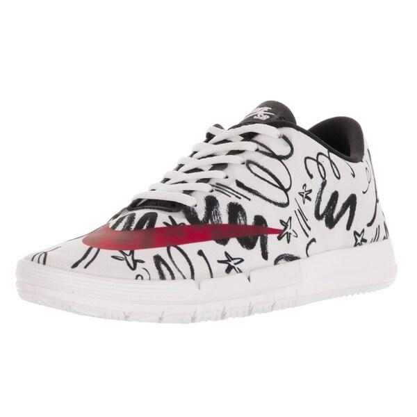 Nike Men's Free Sb R/R Qs White/Gym Red/Black Skate Shoe