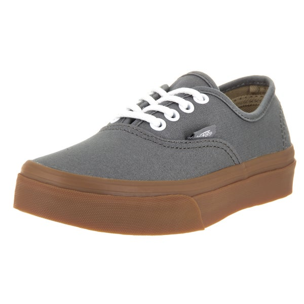 Vans Kids Authentic GumSole Pewter/Light Gum Skate Shoe