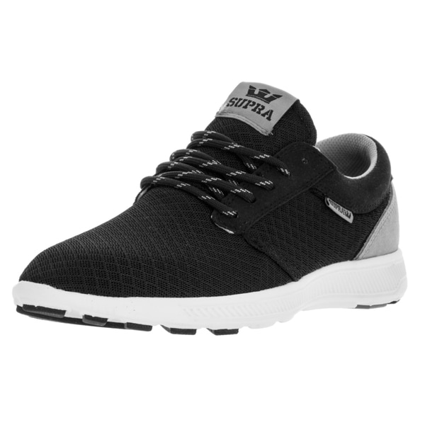 Supra Men's Hammer Run Black/Grey/White Running Shoe