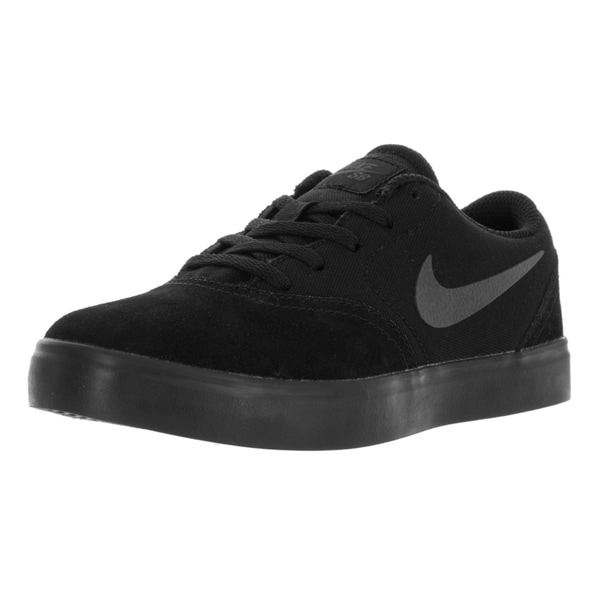 Nike Kids SB (PS) Check Black/Anthracite Skate Shoe