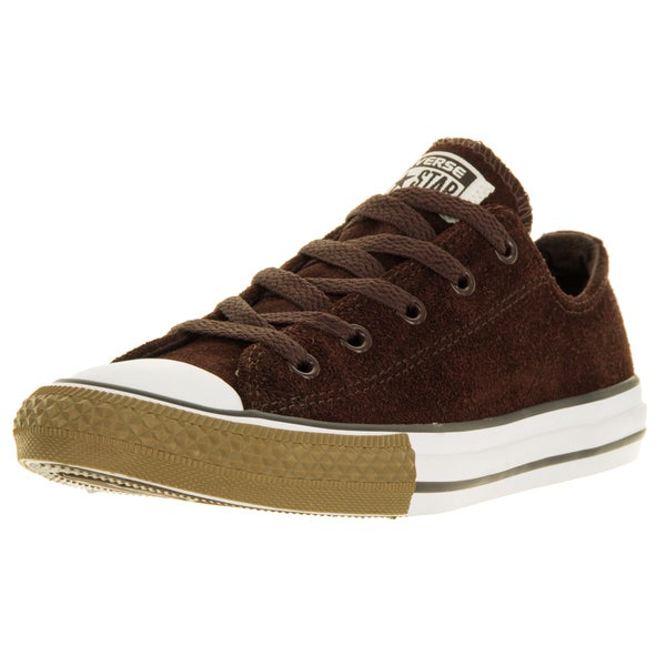 Converse Kids Chuck Taylor OX Burnt Umber Basketball Shoe