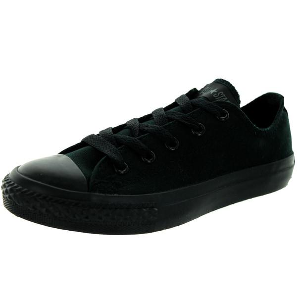 Converse Kids Chuck Taylor Ox Black/Monoch Basketball Shoe
