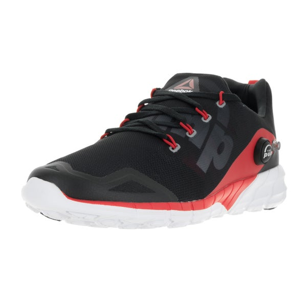 Reebok Men's Zpump Fusion 2.0 Red/Coal/Gravel/White Running Shoe