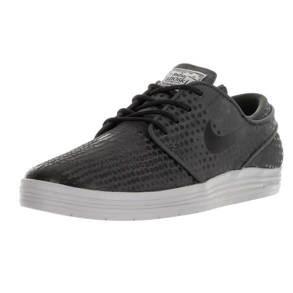 Nike Men's Lunar Stefan Janoski Anthracite/Black/Wolf Grey Skate Shoe