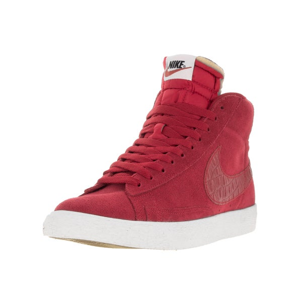 Nike Men's Blazer Mid Prm Vntg Gym Red/Gym Red Sail Casual Shoe