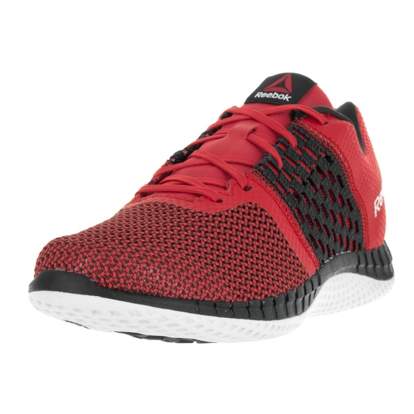 Reebok Men's Zprint Run Red/Coal/Gravel/White Running Shoe
