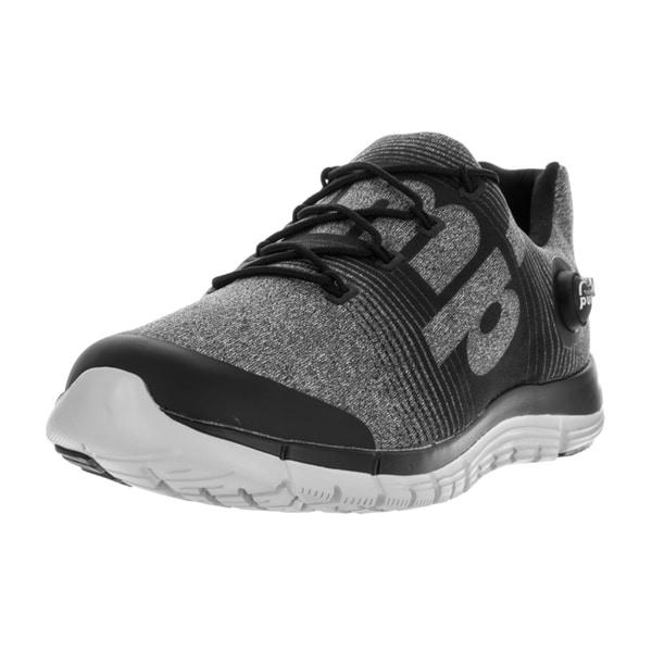 Reebok Men's Zpump Fusion LE Grey/Black/Steel/Slvr/Wht Running Shoe
