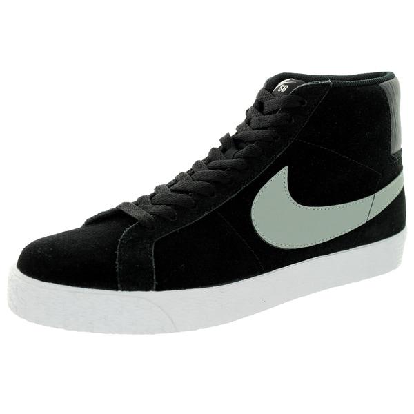 Nike Men's Blazer SB Premium SE Base Grey/Black/White Skate Shoe