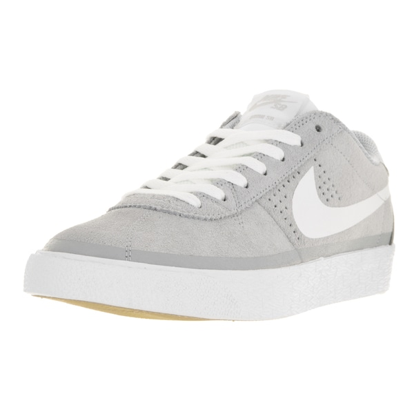 Nike Men's Bruin SB Premium SE Wolf Grey/White/Gm Light Brown Skate Shoe