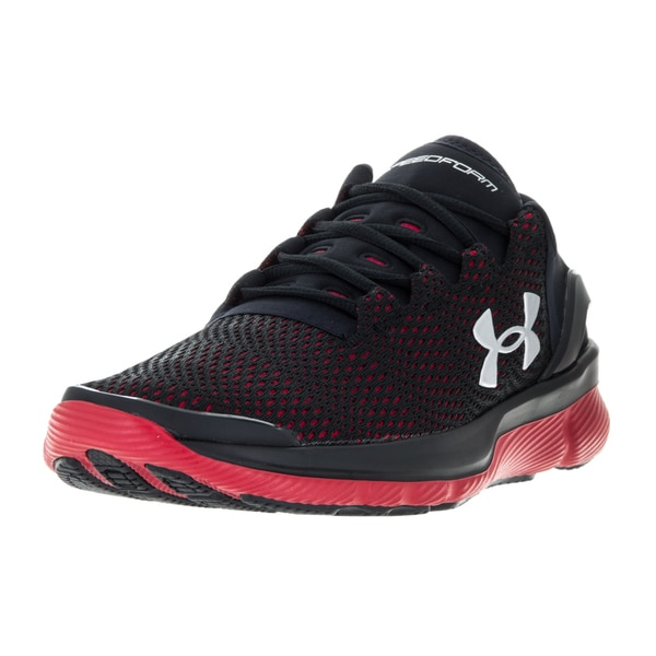 Under Armour Kids Speedform Apollo 2 Black/Red/Msv Running Shoe 22193886