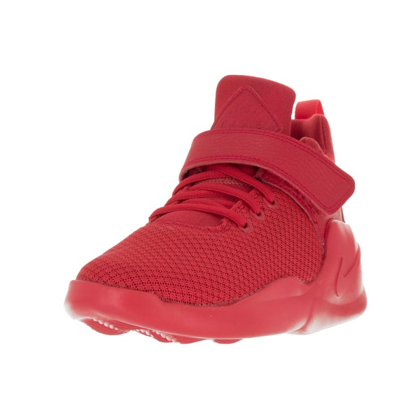 Nike Kids' Kwazi (PS) Action Red/Action Red Basketball Shoes