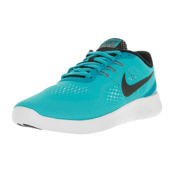 Nike Kids' Free Rn (GS) Gamma Blue/Black/White Running Shoes