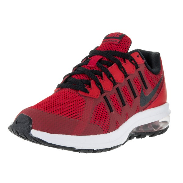 Nike Kids' Air Max Dynasty (GS) University Red/Black/Wolf Grey/White Running Shoes