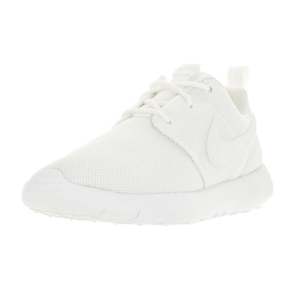 Nike Kids Roshe One (PS) White Wolf Grey Running Shoe
