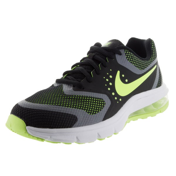 Nike Kids Air Max Premiere Run (GS) Black/Volt/White/Cool Grey Running Shoe