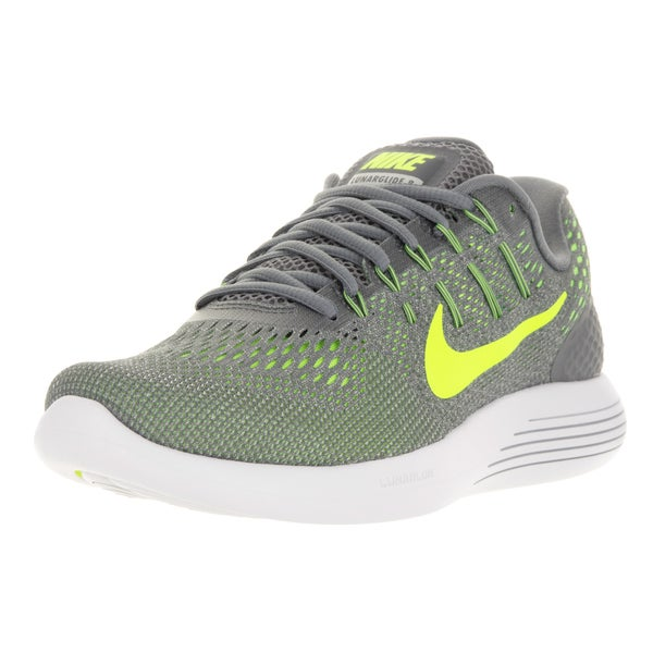 Nike Men's Lunarglide 8 Cool Grey/Volt Anthracite Running Shoe
