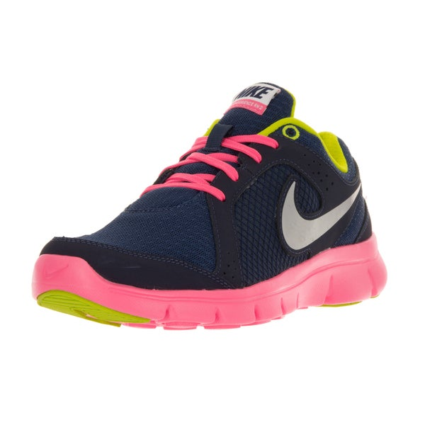 Nike Kids Flex Experience Blue Plastic Running Shoe